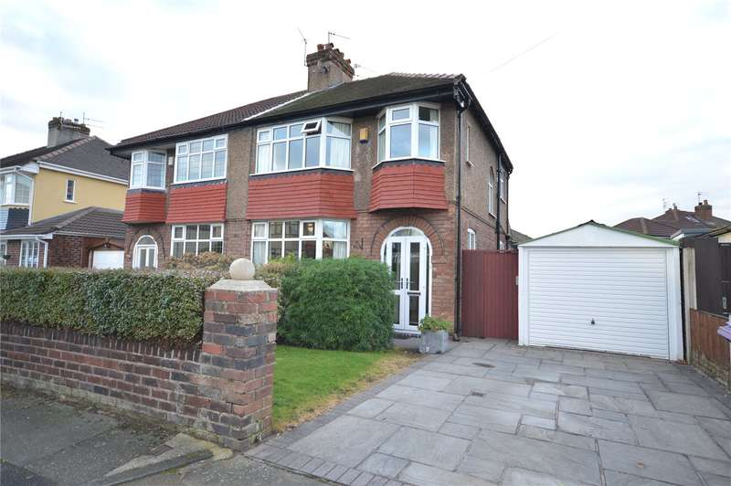 3 Bedrooms Semi Detached House for sale in Oldfield Road, Grassendale, Liverpool, L19