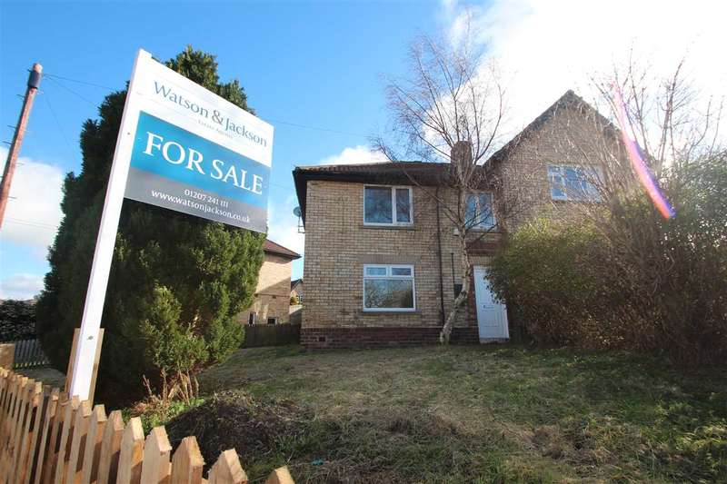 3 Bedrooms Semi Detached House for sale in The Crescent, Consett, Bridgehill