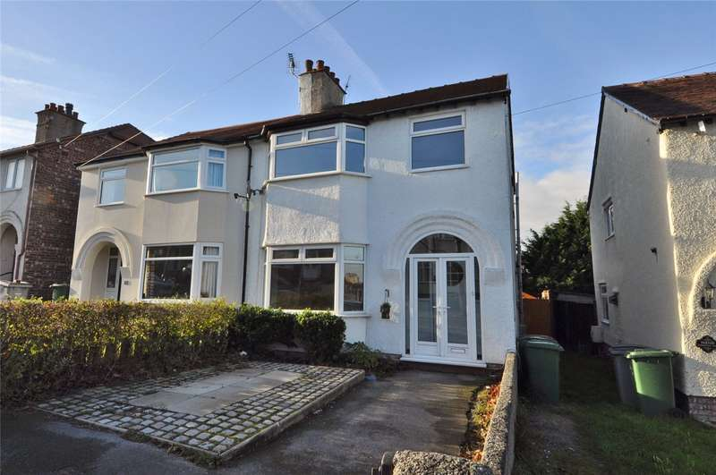 3 Bedrooms Semi Detached House for sale in Boulton Avenue, West Kirby, Wirral