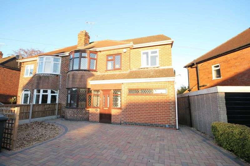 3 Bedrooms Semi Detached House for sale in WINDSOR AVENUE, LITTLEOVER.