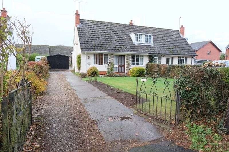 2 Bedrooms Semi Detached House for sale in Ridleys Cross, Stourport-On-Severn DY13 0RF