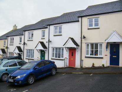 2 Bedrooms Terraced House for sale in Nanpean, St. Austell, Cornwall