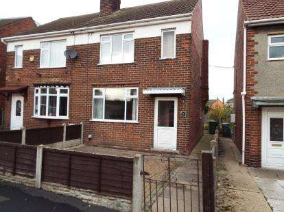 3 Bedrooms Semi Detached House for sale in Ley Gardens, Alfreton, Derbyshire