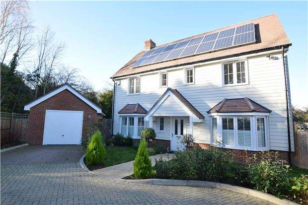 4 Bedrooms Detached House for sale in Diamond Jubilee Way, Carshalton, Surrey, SM5 4AS