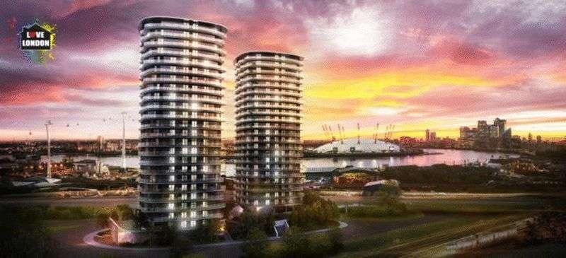 1 Bedroom Property for sale in Hoola Tower East, 31 Tidal Basin Road, London