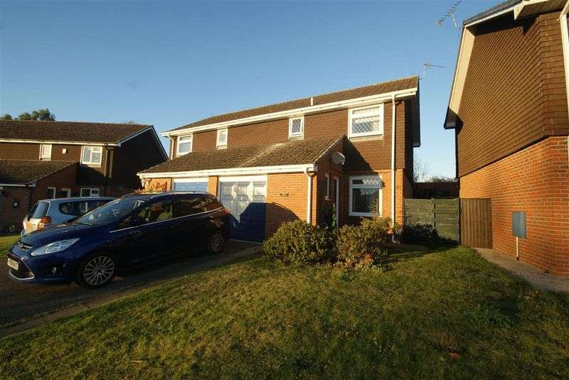 3 Bedrooms Semi Detached House for sale in Richborough Drive, Andover