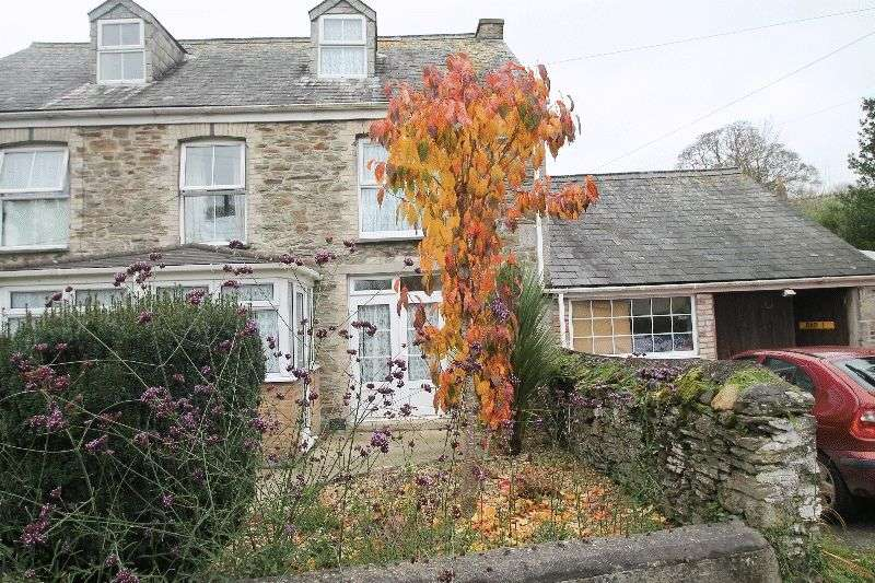 2 Bedrooms Semi Detached House for sale in Bridge, St. Columb Major