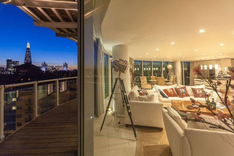 3 Bedrooms Flat for sale in Wapping High Street, London