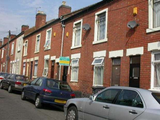 2 Bedrooms Terraced House for sale in Belgrave Street, Derby, DE23