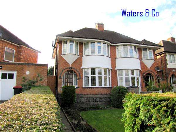 3 Bedrooms Semi Detached House for sale in Station Road, Coleshill