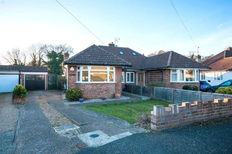 2 Bedrooms Semi Detached Bungalow for sale in Hillside Gardens, Brockham, Betchworth, Surrey, RH3