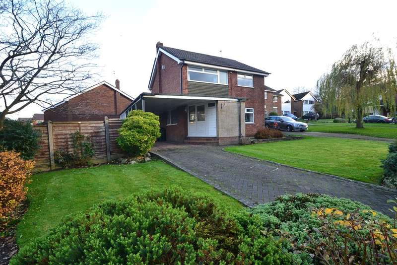 4 Bedrooms Detached House for sale in Redcar Close, Hazel Grove, Stockport SK7 4SQ