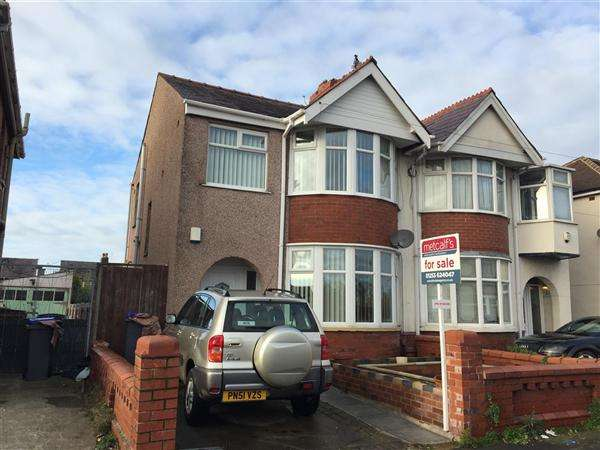 3 Bedrooms Semi Detached House for sale in Aylesbury Avenue, Blackpool