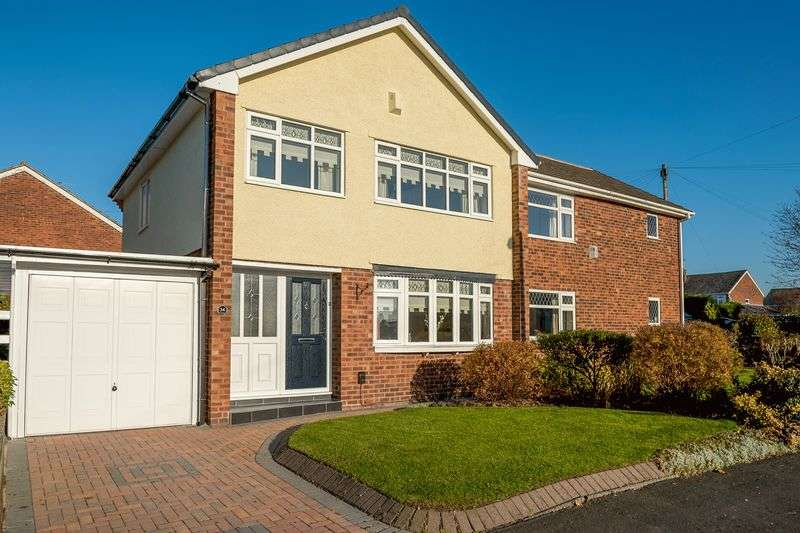 3 Bedrooms Semi Detached House for sale in Croftfield, Maghull