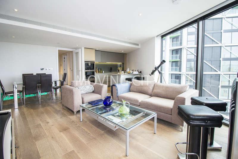 3 Bedrooms Flat for sale in Riverlight 3, Nine Elms Lane, Battersea
