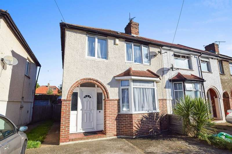 3 Bedrooms End Of Terrace House for sale in Princes Park Avenue, Hayes, UB3