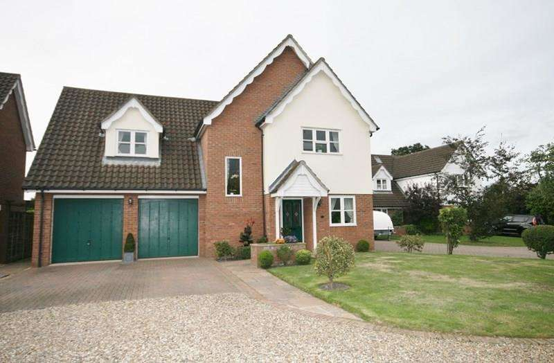 4 Bedrooms Detached House for sale in Bowling Green Close, Attleborough