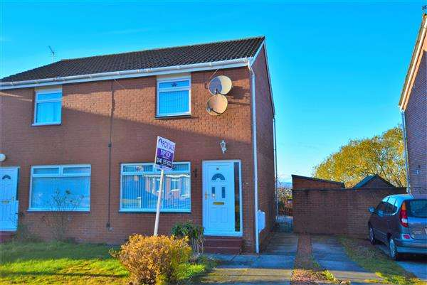 2 Bedrooms Semi Detached House for sale in Glenbuck Avenue, Robroyston G33