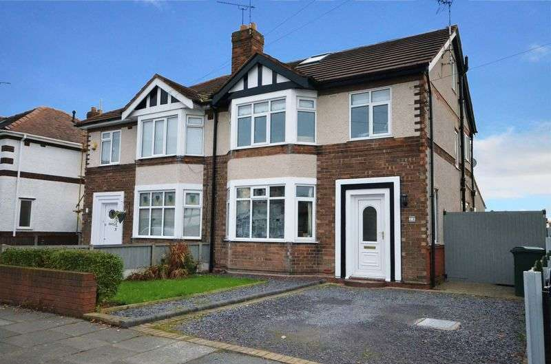 4 Bedrooms Semi Detached House for sale in Park Drive South, Hoole, Chester