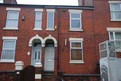 2 Bedrooms Terraced House for sale in Etruria Road, Stoke-On-Trent, Staffordshire