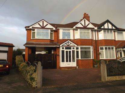 4 Bedrooms Semi Detached House for sale in Royal Avenue, Urmston, Manchester, Greater Manchester