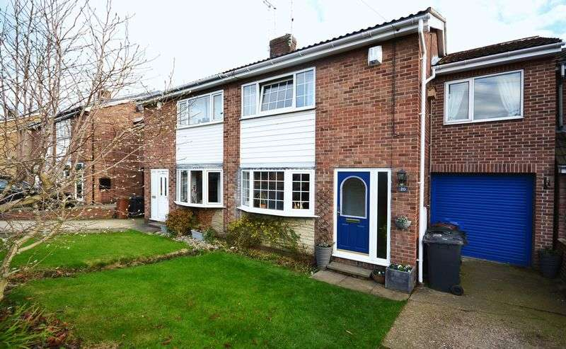 3 Bedrooms Semi Detached House for sale in Silverstone Avenue, Barnsley