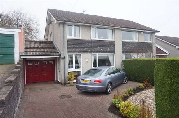 3 Bedrooms Semi Detached House for sale in St Annes Gardens, Maesycwmmer, Hengoed, Caerphilly