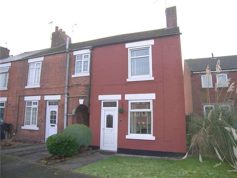 2 Bedrooms End Of Terrace House for sale in Tower Close, Somercotes, Alfreton, Derbyshire, DE55