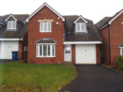4 Bedrooms Detached House for sale in Wrens Croft, Cannock, Staffordshire, West Midlands