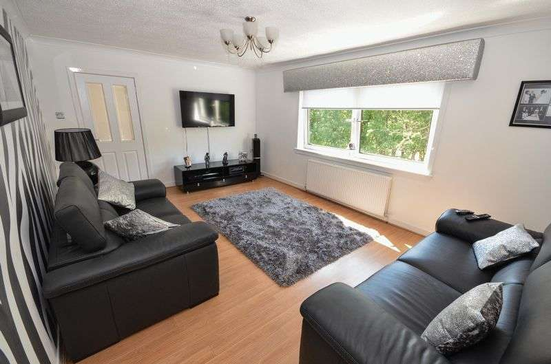 3 Bedrooms Flat for sale in Backbrae Street, Kilsyth