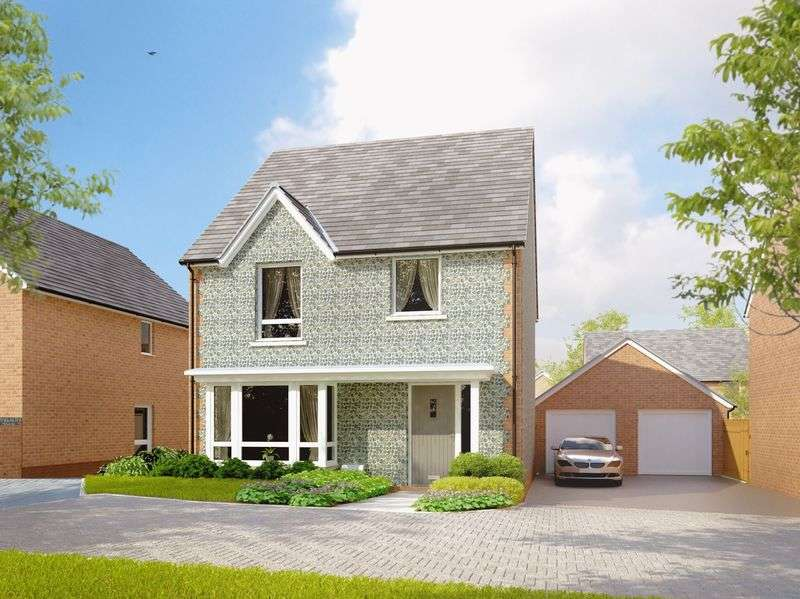 4 Bedrooms Detached House for sale in Longhedge Village, Salisbury