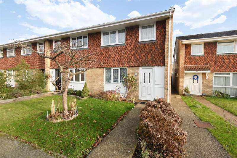 3 Bedrooms End Of Terrace House for sale in Paddocks Mead, Woking, GU21