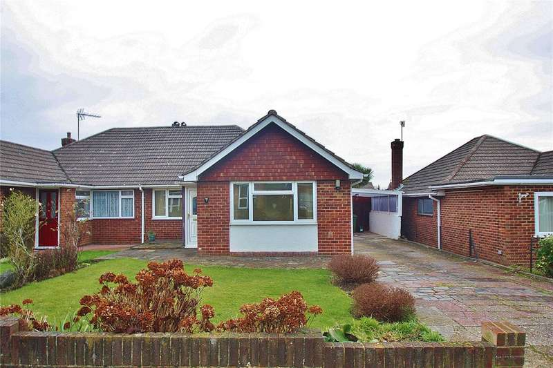 3 Bedrooms Semi Detached Bungalow for sale in Elm Grove, Bisley, Woking, Surrey, GU24