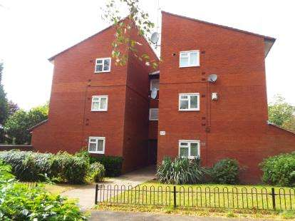 1 Bedroom Flat for sale in Crossfell, Wilnecote, Tamworth, Staffordshire