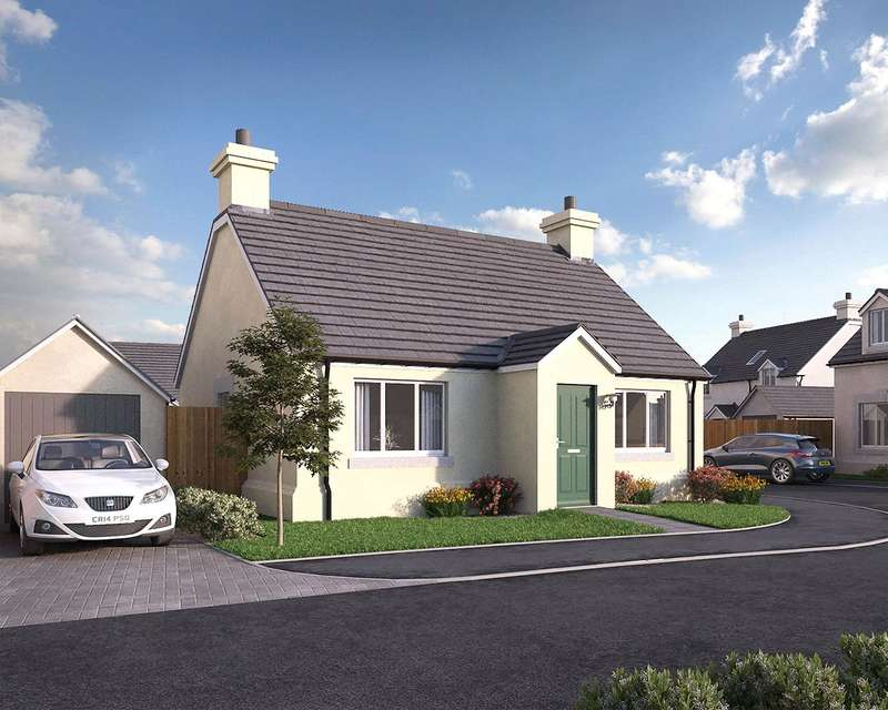2 Bedrooms Semi Detached Bungalow for sale in Plot No 8, Triplestone Close, Herbrandston, Milford Haven