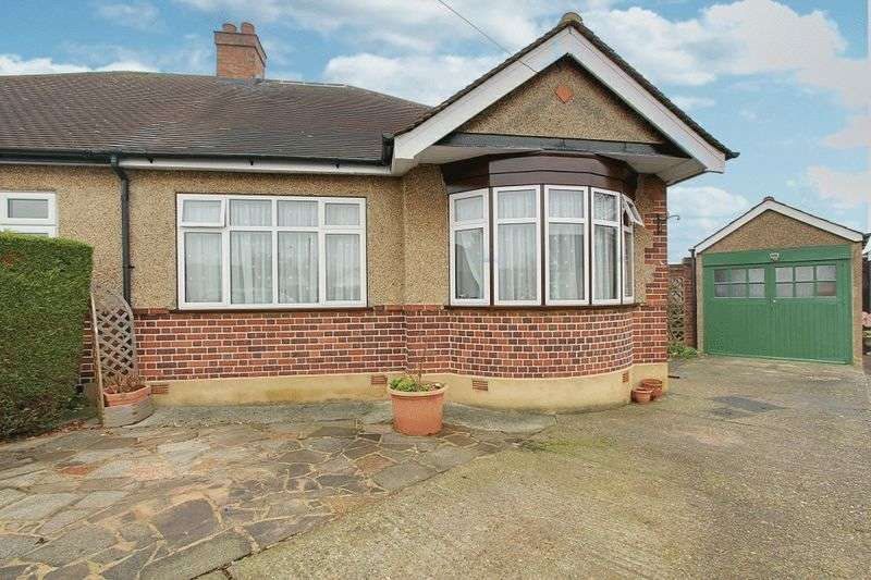 3 Bedrooms Semi Detached Bungalow for sale in Harewood Close, Northolt