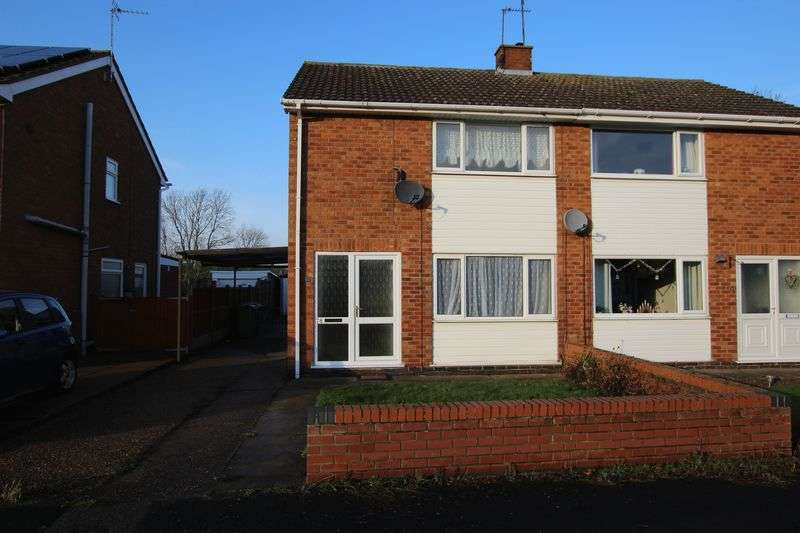 3 Bedrooms Semi Detached House for sale in 78 Rudgard Avenue, Cherry Willingham
