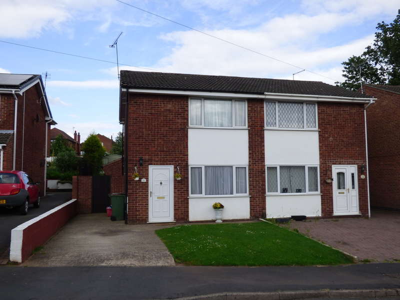 3 Bedrooms Semi Detached House for sale in Priory Close, Thringstone