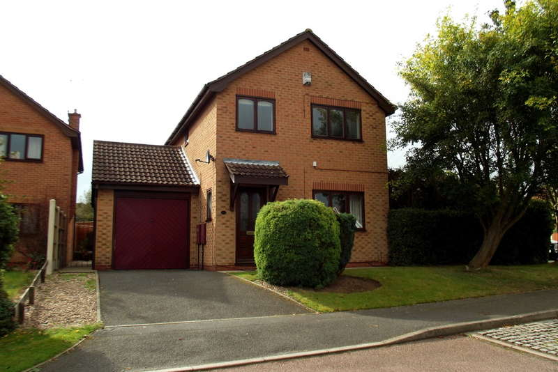 3 Bedrooms Detached House for sale in Harcourt Crescent, Nuthall