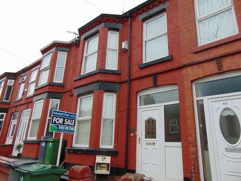 3 Bedrooms Terraced House for sale in Raffles Road, Birkenhead