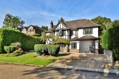 5 Bedrooms Detached House for sale in Ninhams Wood, Keston Park, Kent