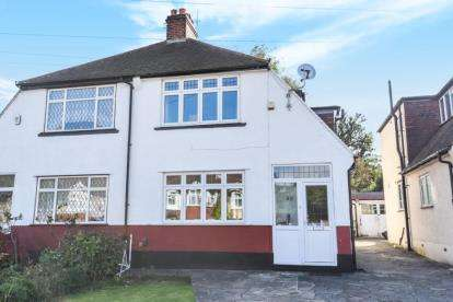 3 Bedrooms Semi Detached House for sale in Links View Road, Shirley, Croydon