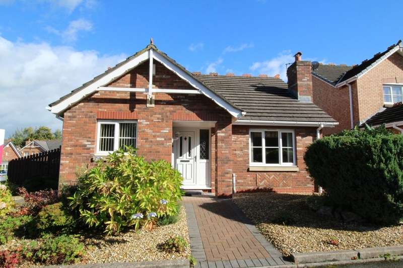 2 Bedrooms Detached Bungalow for sale in Larch Drive, Stanwix, Carlisle, CA3