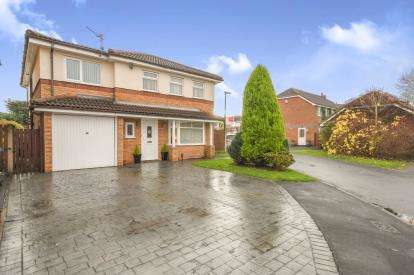 6 Bedrooms Detached House for sale in Langfield, Lowton, Warrington, Greater Manchester