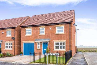 4 Bedrooms Detached House for sale in Hamilton Way, Coningsby, Lincoln