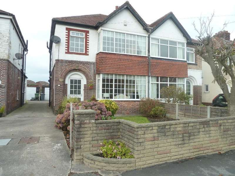 3 Bedrooms Semi Detached House for sale in Church Road, Thornton Cleveleys, Lancashire, FY5 2TX