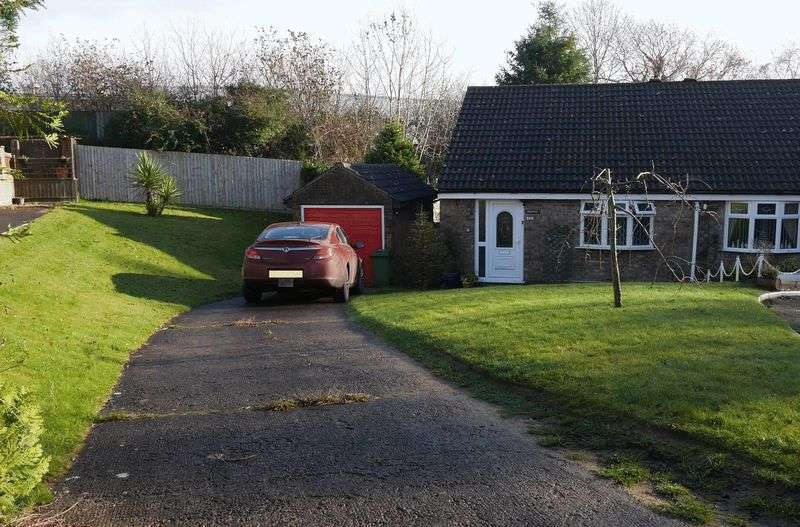 2 Bedrooms Semi Detached Bungalow for sale in Oak Close, Talbot Green, CF72 8RF