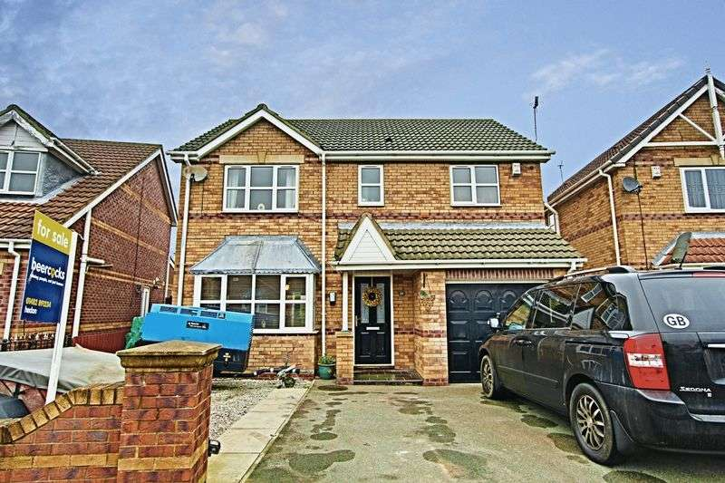 4 Bedrooms Detached House for sale in Cleeve Road, Hedon
