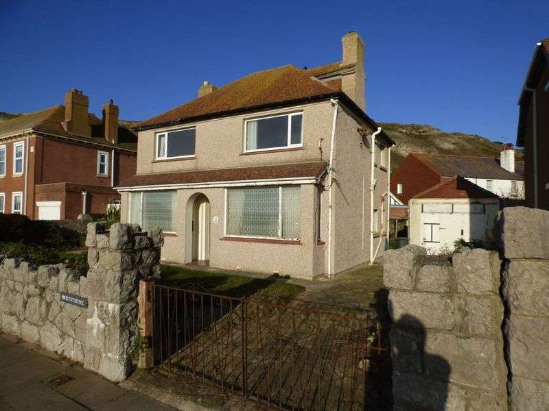 3 Bedrooms Detached House for sale in Westdene, West Parade, West Shore, LL30 2BB
