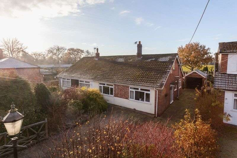 3 Bedrooms Semi Detached Bungalow for sale in Poole, Nantwich